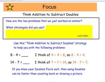 Everyday Math 4, Common Core, Unit 7 First Grade Interactive Lesson
