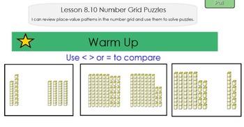 Everyday Math 4, Common Core, Unit 8 First Grade Interactive Lesson