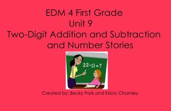 Everyday Math 4, Common Core, Unit 9 First Grade Interacti