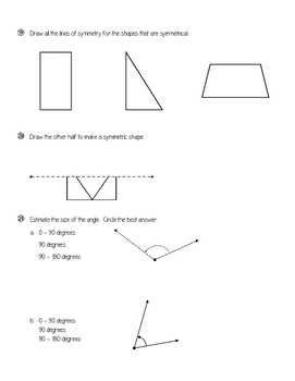 Everyday Math 4 (EDM4) - 4th Grade - Unit 5 Test Review and Answer Key