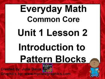 Everyday Math 4 EDM4 Common Core Edition 1.2 Introduction
