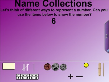 Everyday Math 4 EDM4 Common Core Edition 8.13 Name Collection Posters