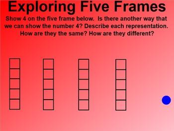 Everyday Math 4 EDM4 Common Core Edition Kindergarten 1.11 Five Frames