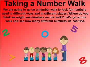 Everyday Math 4 EDM4 Common Core Edition Kindergarten 1.4 Number Walk