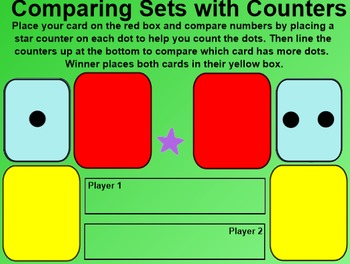 Everyday Math 4 EDM4 Common Core Edition Kindergarten 2.2 Top It Dot Cards
