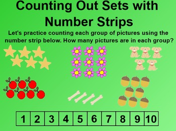 Everyday Math 4 EDM4 Common Core Edition Kindergarten 2.4 Number Board