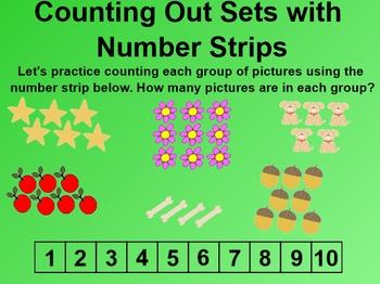 Everyday Math 4 EDM4 Common Core Edition Kindergarten 2.4 Number Board
