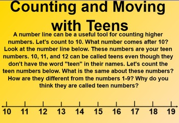 Everyday Math 4 EDM4 Common Core Edition Kindergarten 4.6 Moving with Teens