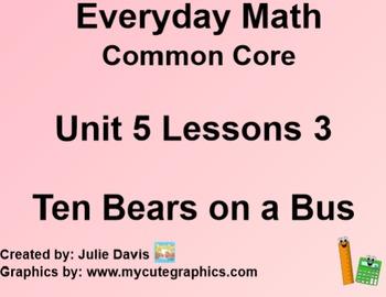 Everyday Math 4 EDM4 Common Core Edition Kindergarten 5.3