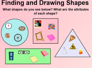 Everyday Math 4 EDM4 Common Core Edition Kindergarten 5.4 Find and Draw Shapes