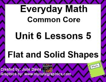 Everyday Math 4 EDM4 Common Core Edition Kindergarten 6.5