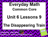 Everyday Math 4 EDM4 Common Core Edition Kindergarten 6.9 Disappearing Train