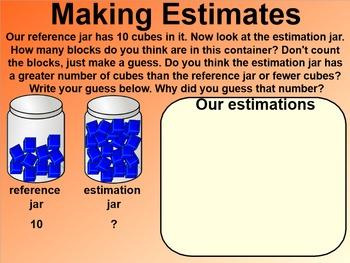 Everyday Math 4 EDM4 Common Core Edition Kindergarten 7.8 Estimation Jar