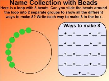 Everyday Math 4 EDM4 Common Core Edition Kindergarten 7.9 Bead Combinations