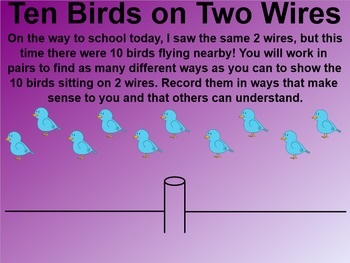 Everyday Math 4 EDM4 Common Core Edition Kindergarten 8.7 Birds on a Wire