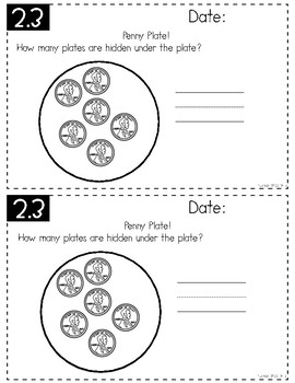 Everyday Math 4 (EM4) - Unit 2 ACI Booklet for First Grade!