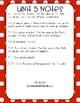 Everyday Math 4 (EM4) - Unit 5 ACI Booklet for First Grade!