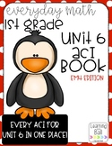 Everyday Math 4 (EM4) - Unit 6 ACI Booklet for First Grade!