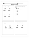 Everyday Math 4 End-of-Year Assessment Review-