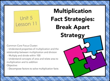 Everyday Math 4 Gr. 3, Unit 5, Lesson 11: Multiplication S