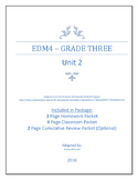 Everyday Math 4 - Grade 3 - Unit 2 - Review