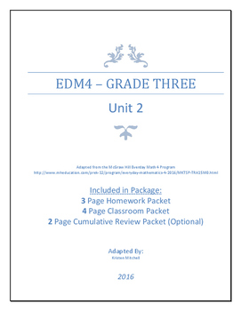 Everyday Math 4 - Grade 3 - Unit 2 - Review