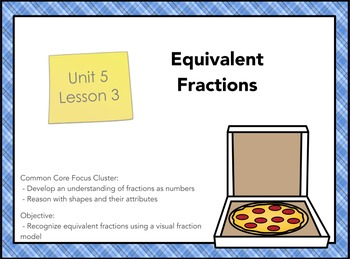 Everyday Math 4 Grade 3, Unit 5, Lesson 3: Equivalent Fractions