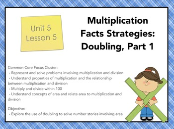 Everyday Math 4 Grade 3, Unit 5, Lesson 5: Multiplication