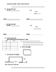 Everyday Math 4 Grade 4 Ch 1 Pretest, Quiz, or Study Guide