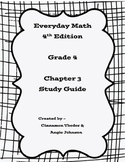 Everyday Math 4 Grade 4 Ch 3 Study Guide