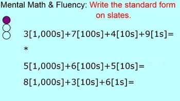 Everyday Math 4 Grade 4 Ch1 Lesson 13 Smartboard