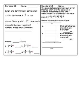 Everyday Math 4, Grade 4, Chapter 5 BUNDLE