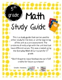 Everyday Math Grade 5 Unit 2 Study Guide