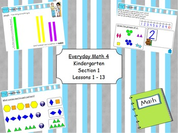 Everyday Math 4 Kindergarten Section 1