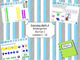 Everyday Math 4 Kindergarten Section 1
