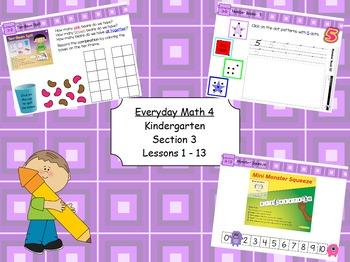 Everyday Math 4 Kindergarten Section 3