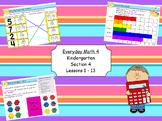 Everyday Math 4 Kindergarten Section 4