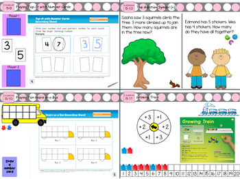 Everyday Math 4 Kindergarten Section 5 Lessons 5.8-5.13