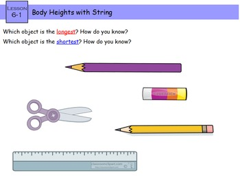 Everyday Math 4 Kindergarten Section 6.1