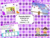 Everyday Math 4 Kindergarten Section 8