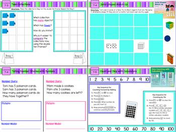 Everyday Math 4 Kindergarten Sections 7.1-7.7