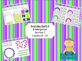 Everyday Math 4 Kindergarten Sections 7.8-7.13
