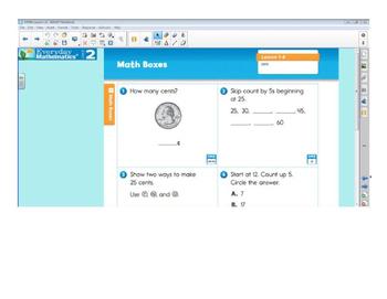 Everyday Math 4 SMARTBoard Lessons EDM4 Unit 4