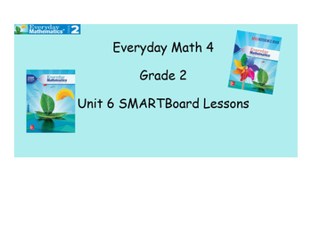 Everyday Math 4 SMARTBoard Lessons EDM4 Unit 6
