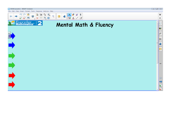 Everyday Math 4 SMARTBoard Lessons EDM4 Unit 8