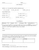 Everyday Math 4 Second Grade, Unit 5 Review