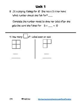 Everyday Math 4 Unit 1 Assessment