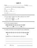 Everyday Math 4 Unit 1 Assessment