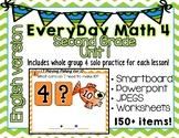 Everyday Math 4| Unit 1| English| Grade 2| Smartboard, Powerpoint, Worksheets