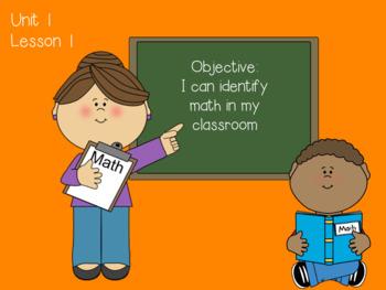 Everyday Math 4: Unit 1 Flipchart